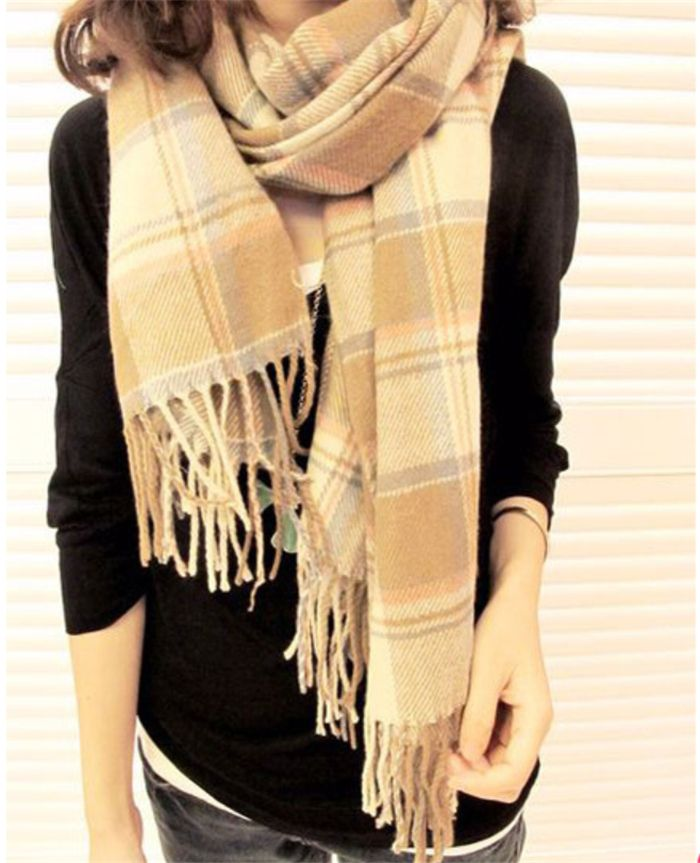 Find More Scarves Information about Free Shipping Wholesale Scarf Hijab Fashion Cape & Shawl Assorted Color Long Plaid Scarf,High Quality scarf children,China scarf shawl Suppliers, Cheap scarf scarf from Michelle's Showcase on Aliexpress.com