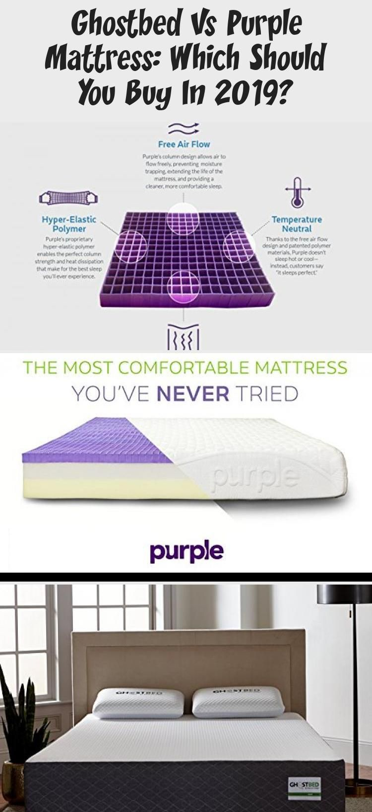 Ghostbed Vs Purple Mattress Which Should You Buy In 2019 In 2020