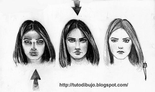 Procesos De Dibujo Light Luz Luz Y Sombra Dibujo Sombras Rostros