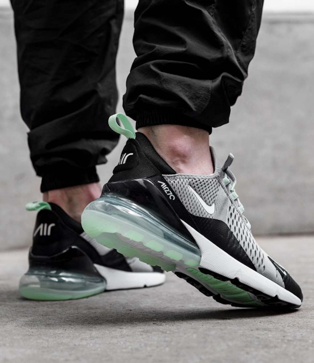 Nike Air Max 270 Grey Green Sneakers Rematch | Nike