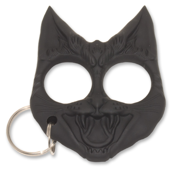 Cat Keychain that serves as a weapon for self defense