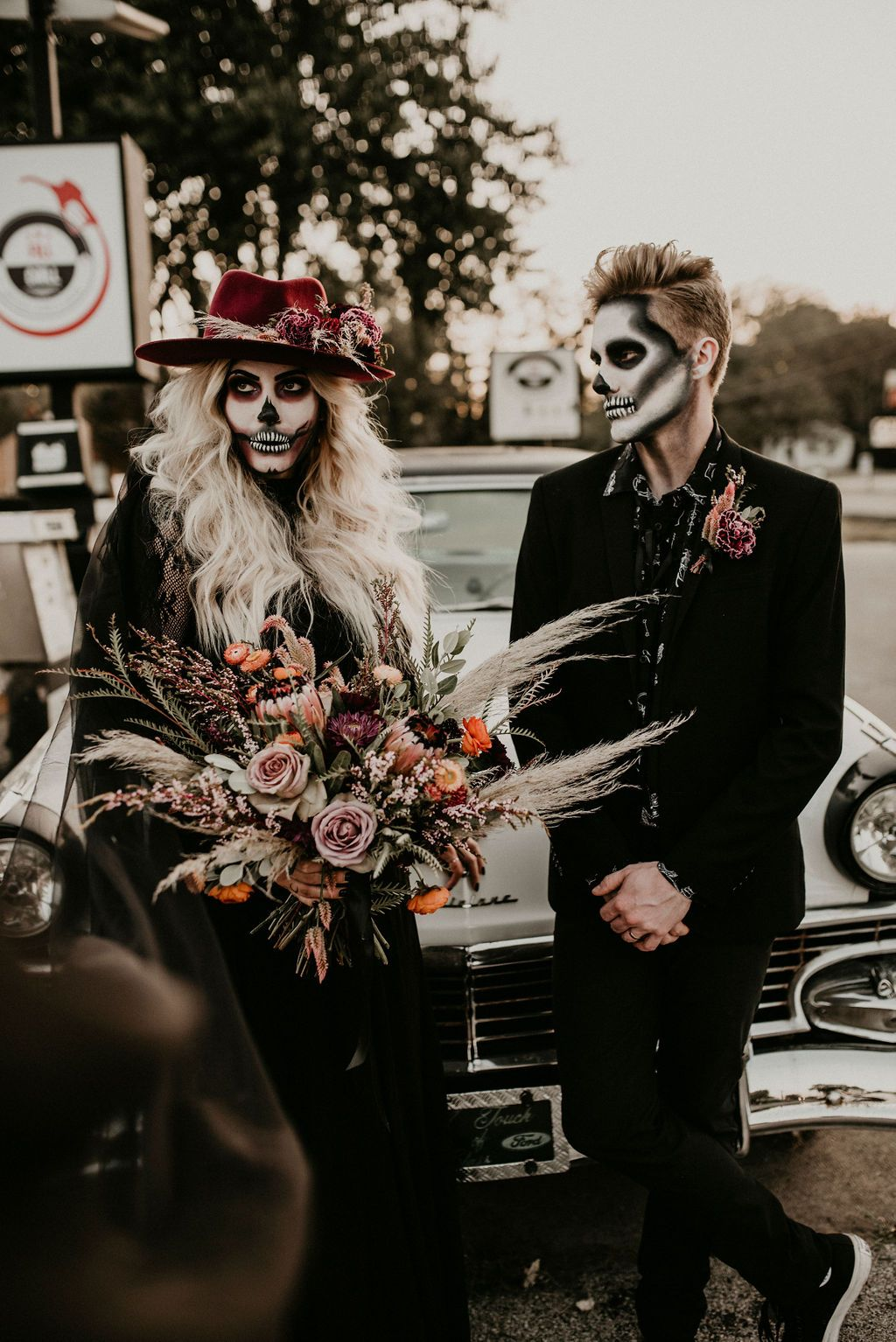 Halloween Wedding Shoot by Magic Moments Photography