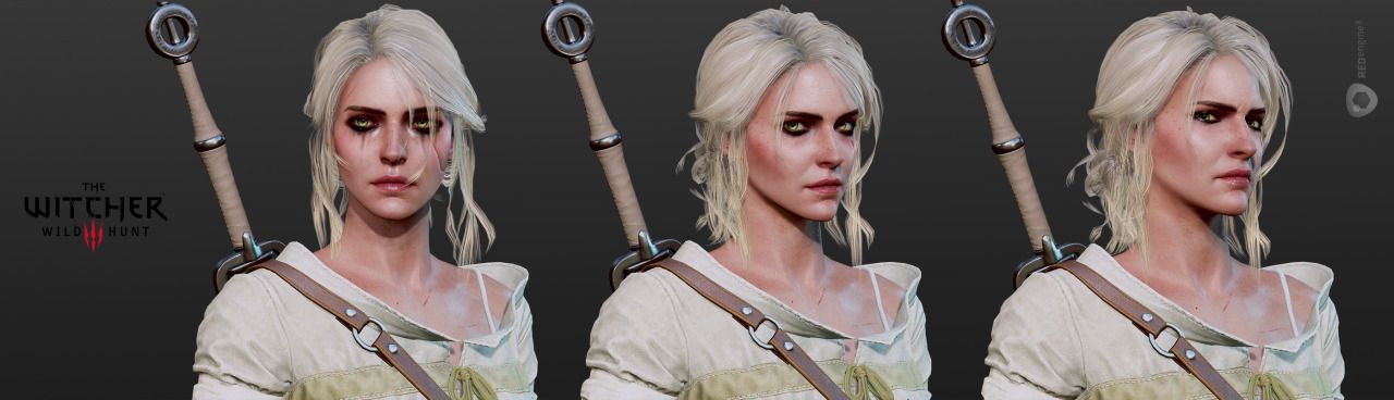 Witcher 3 Hairstyles Google Search Woman Face Ciri Girl Face