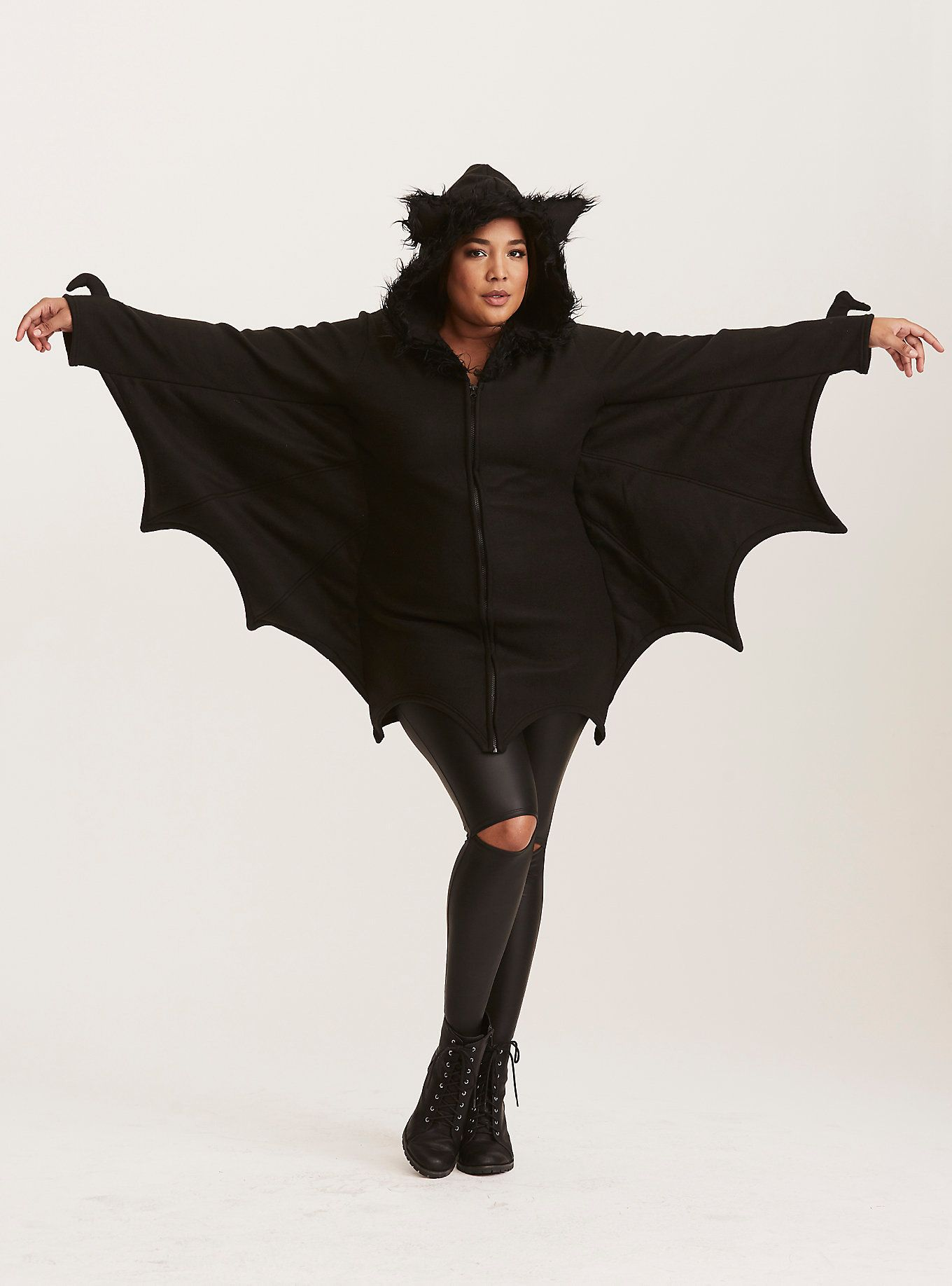 Leg Avenue Halloween Bat Hooded Sweatshirt Costume