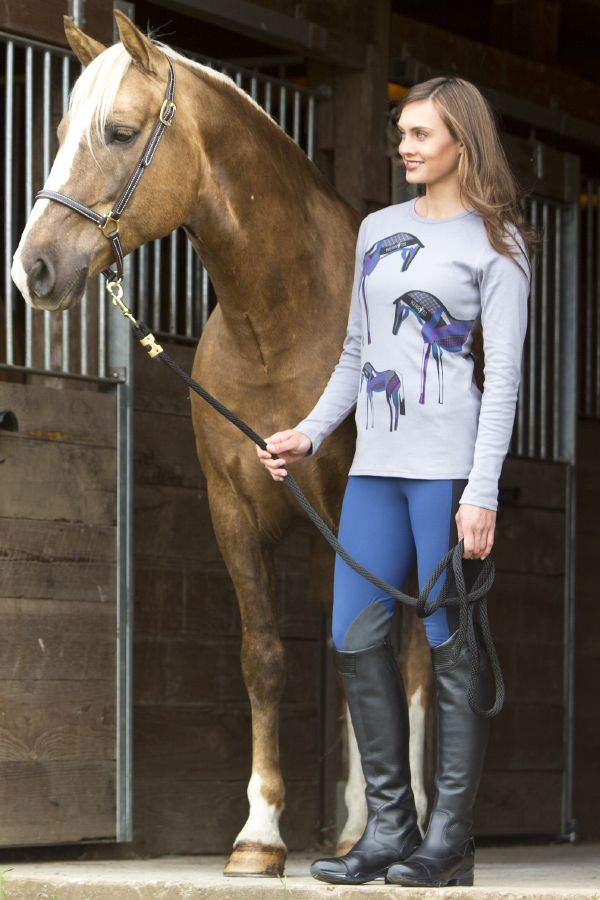 Kerrits Painted Pony Tee A Trifecta Of A Long Sleeve Tee