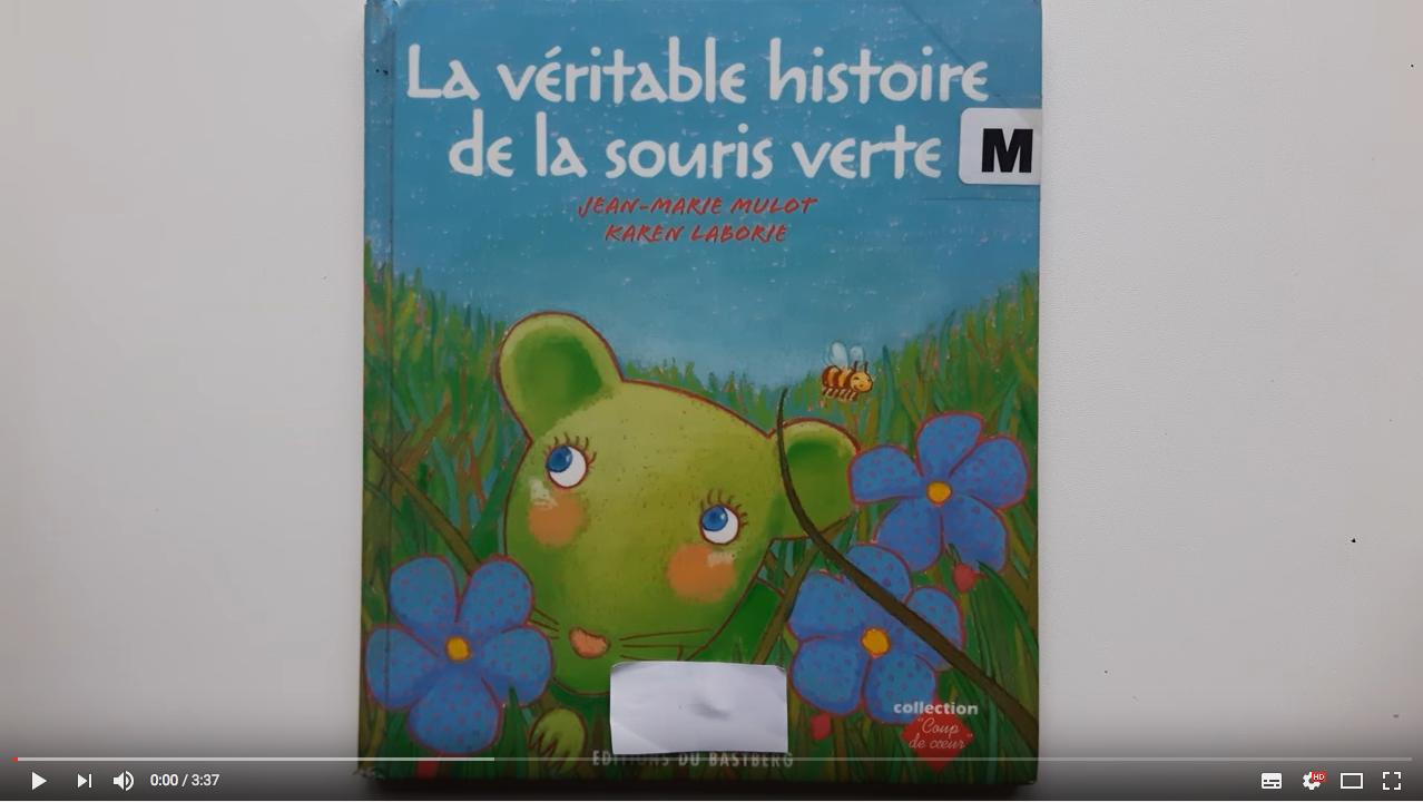Histoire A Lire Et A Ecouter La Veritable Histoire De La Souris Verte Texte Et Narration Audio Une Souris Verte Histoire Histoire En Ligne