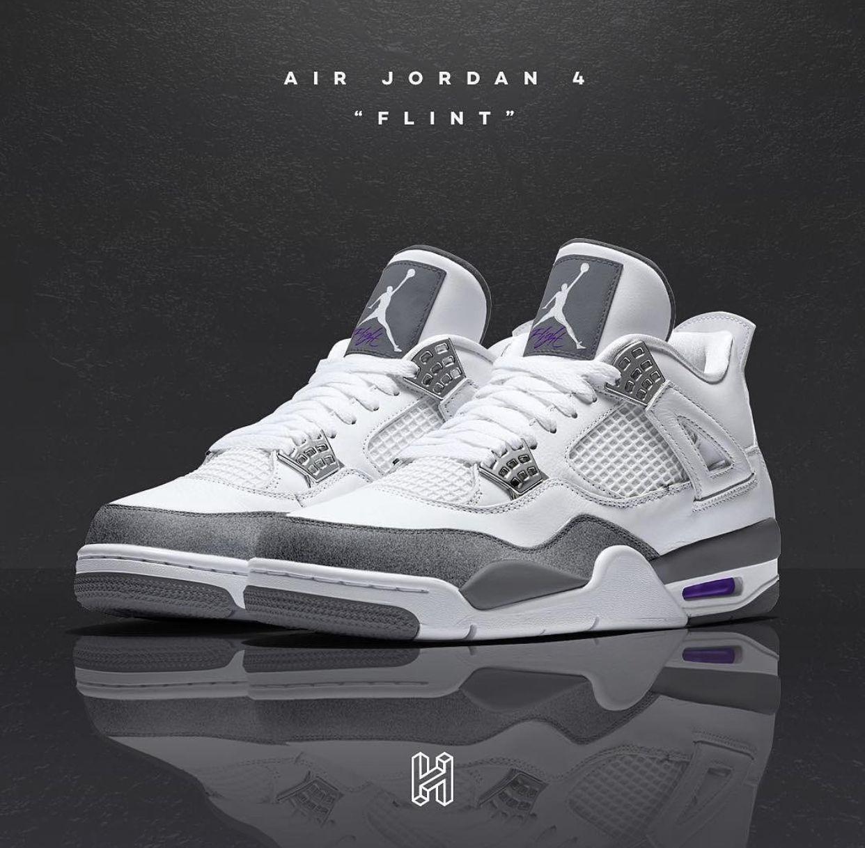finest selection 6f14c a7413 Jordan 4 Flint   Kicks (Sneakers) in 2019   Sneakers, Popular ...