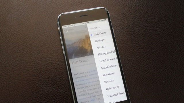 Wikipedia ahora cuenta con una app mejorada para iOS New