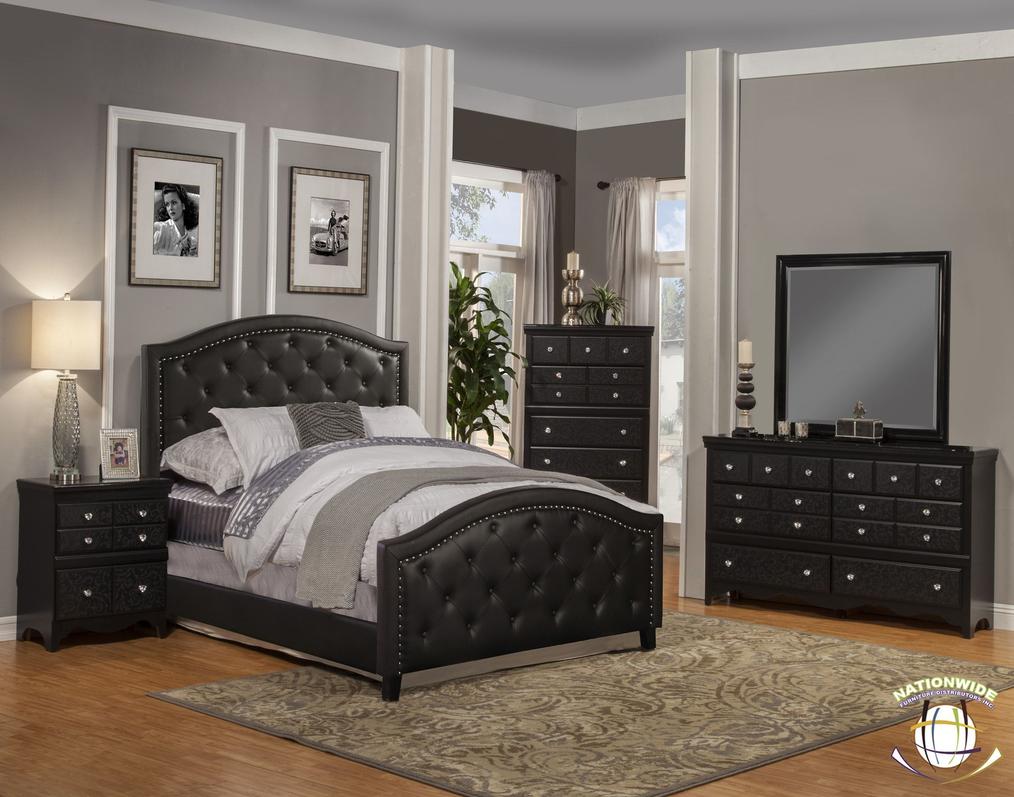 Andre Collection Bed By Hd Furniture Salon Marocain Bedroom