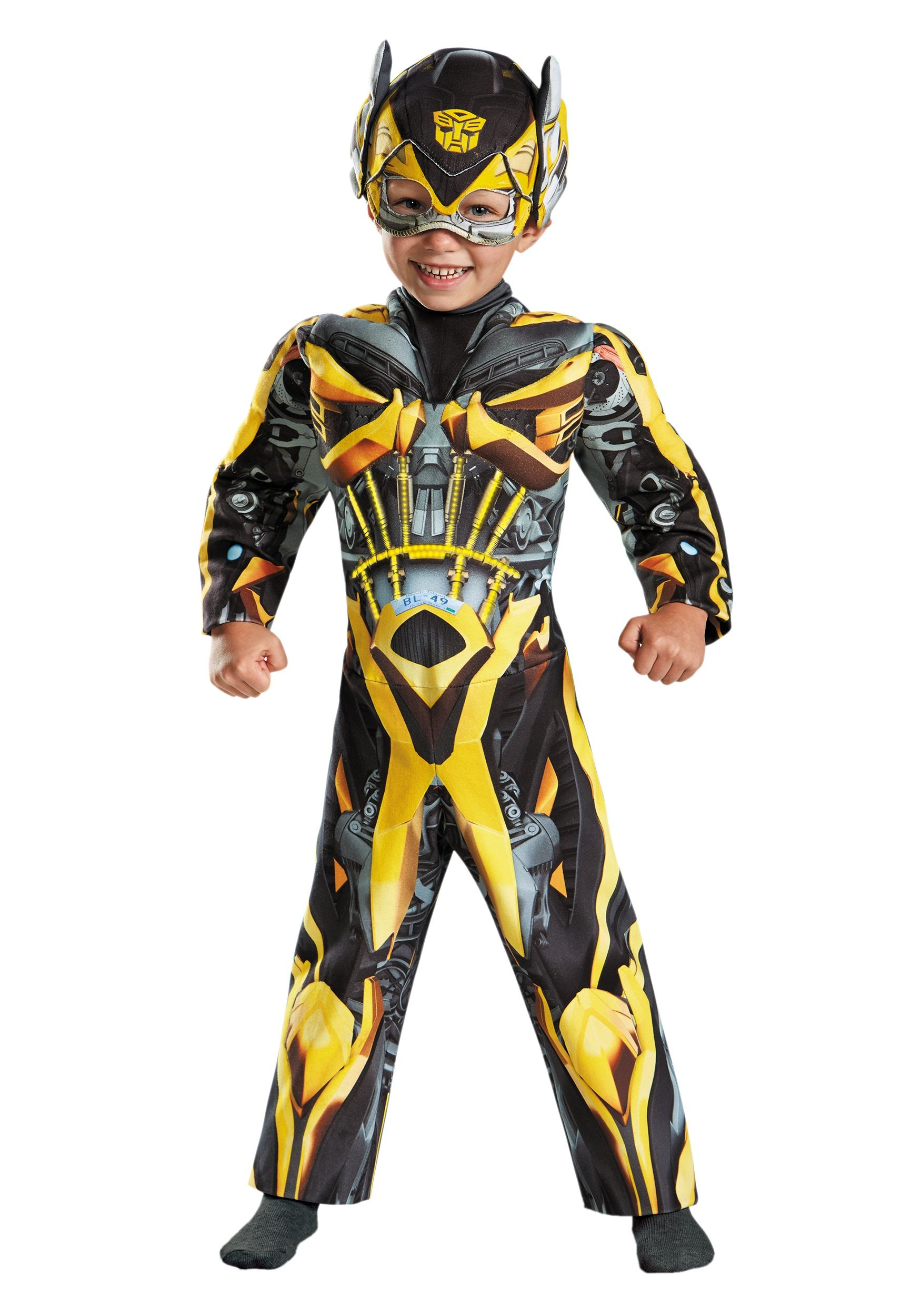toddler transformers 4 light up bumble bee costume | cosplay