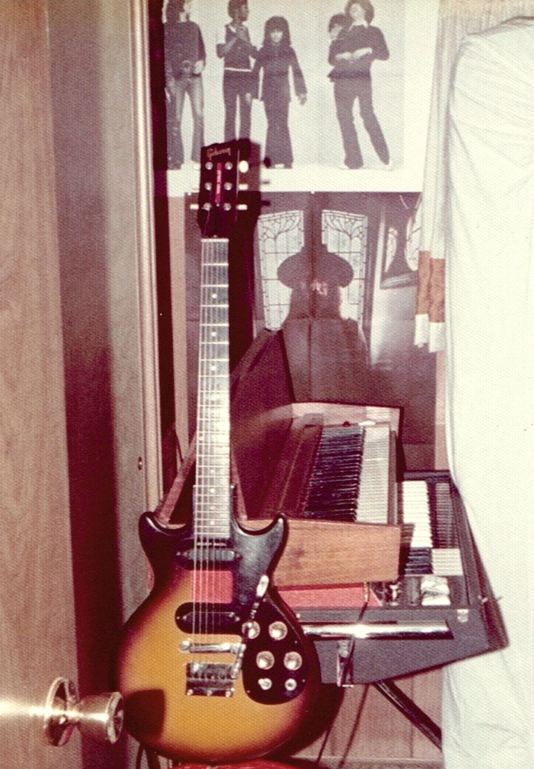 Play instruments.  Pictured is my 1963 Gibson Melody Maker guitar, 1970 Hohner Electric Piano, and Vox Jaguar Electric Organ.