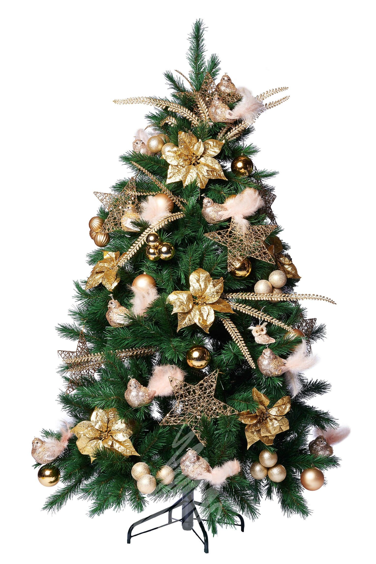 Brighton Spruce 6ft Decorated Artificial Christmas Tree