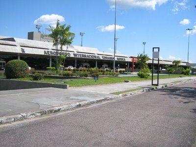 Aeroporto Internacional Eduardo Gomes  - Antes da reforma para Copa de 2014