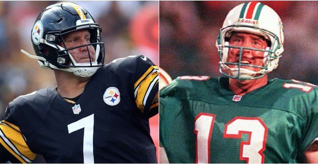 Ben passes Marino for most 450 passing yard games in NFL ...
