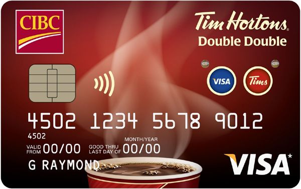 Tim Hortons And Cibc Launch Double Double Visa Card Carta