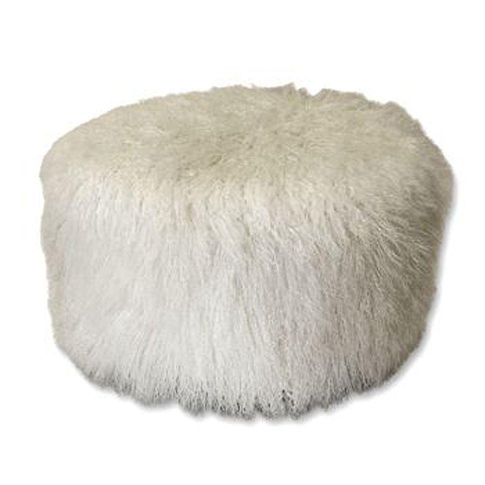 White Pouf Ottoman I Love Fluffy ^^  Pouf Ideas P  Pinterest  Nest And Room