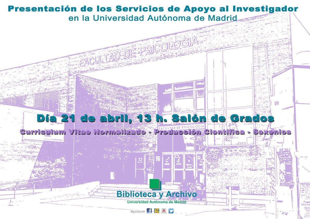Cartel Portal De Producción Científica Biblioteca De Psicología 2015 Biblioteca Psicologia Universo