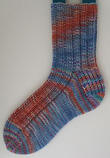 Simple Ribbed Socks In Quick To Knit Dk Weight Yarn Knit From The