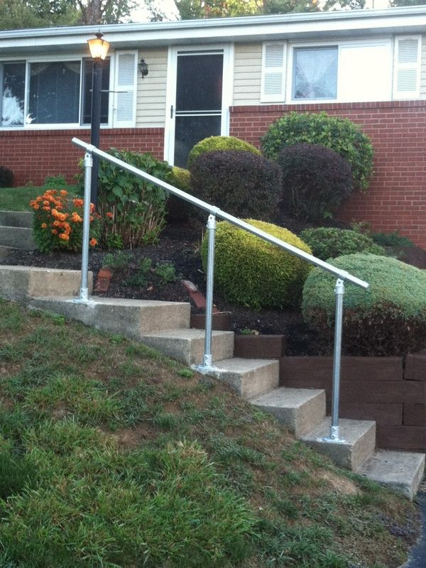 Best Surface C50 Outdoor Stair Railing Easy Install Handrail 640 x 480