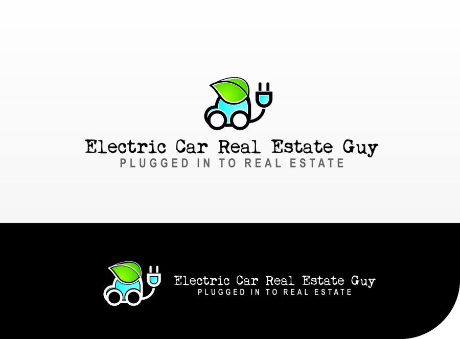 Logo For Electric Car Real Estate Guy By Perge Logo Pinterest