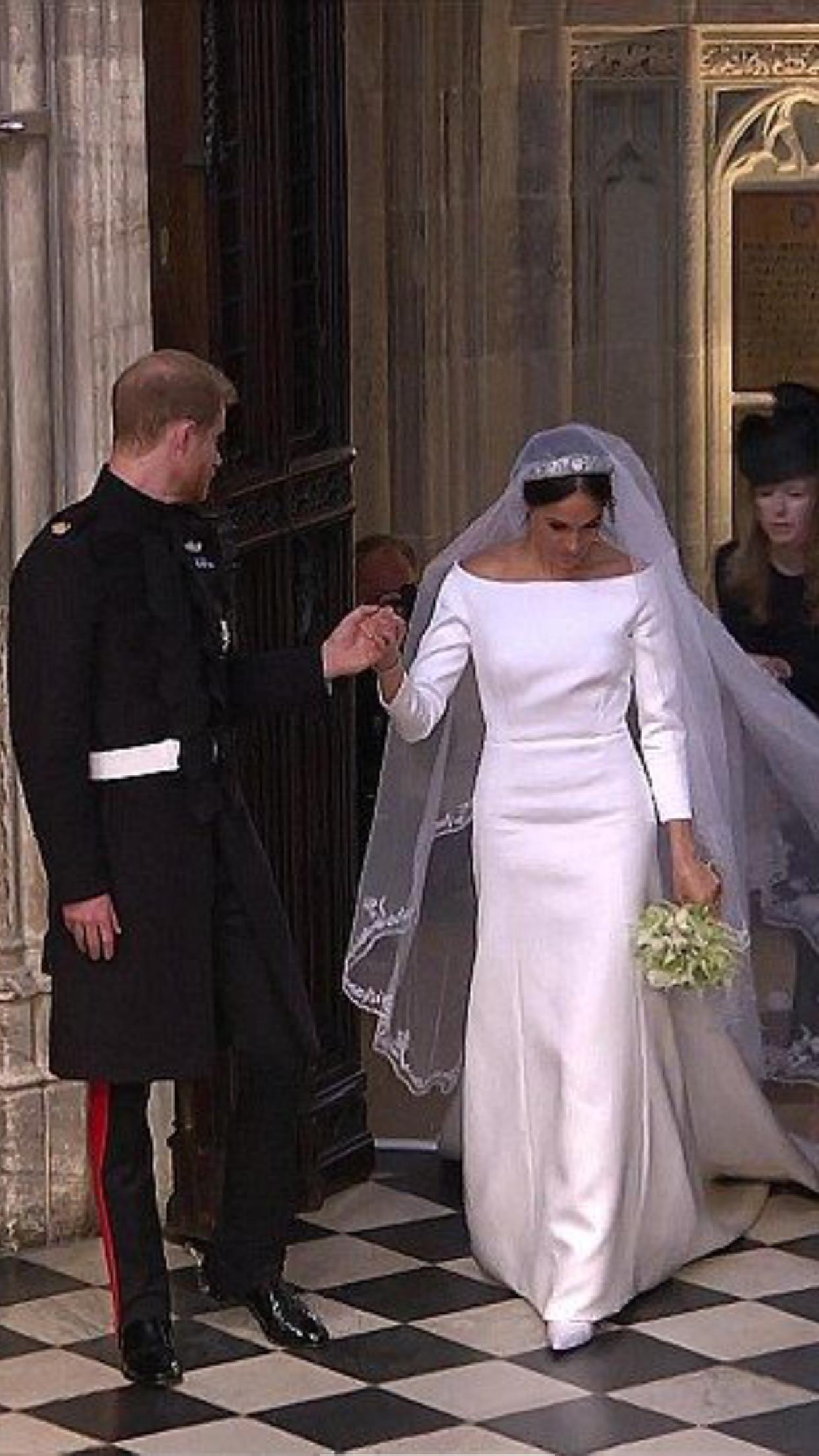 May 19 2018 Prince Harry Meghan Markle S Royal Wedding Givenchy Creative Director Harry And Meghan Wedding Meghan Markle Wedding Dress Princess Meghan