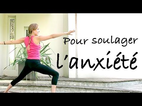 yoga pour soulager l 39 anxi t et le stress youtube arthrose pinterest yoga stress et anxi t. Black Bedroom Furniture Sets. Home Design Ideas