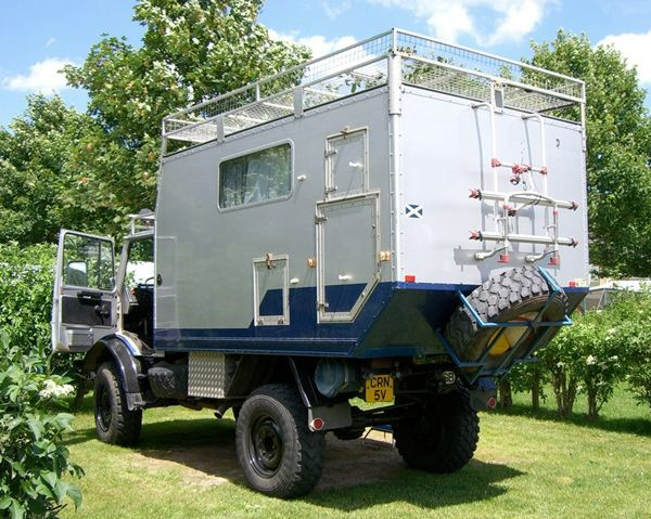 1980 Unimog Offroad Camper In The Uk Expedition Motorhome