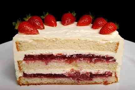 Strawberry Filling For Wedding Cake | Wedding Cake | Pinterest ...