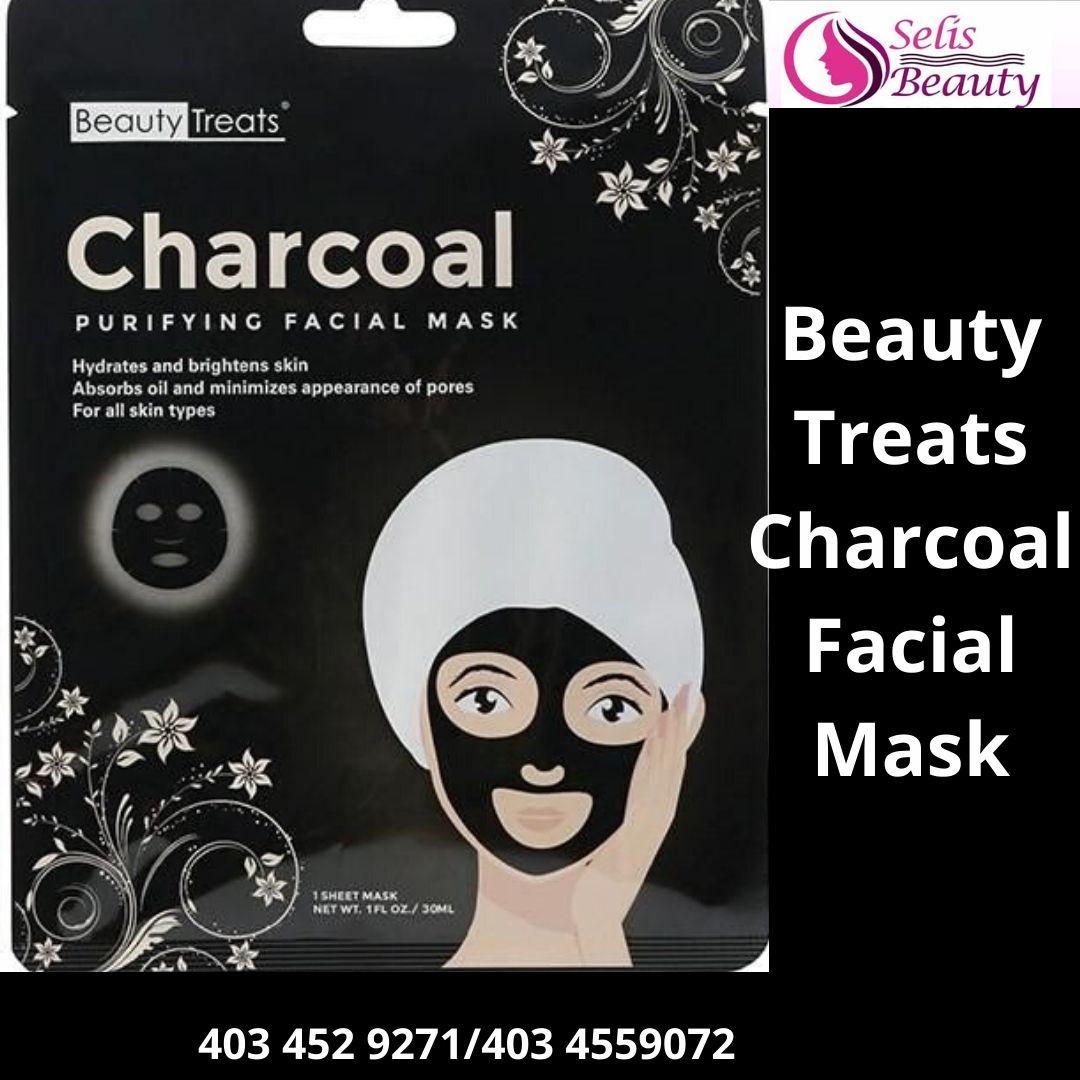 Beauty Treats Charcoal Facial Mask Facial Masks Beauty Treats Skin Brightening