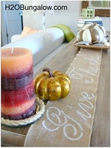 Maybe try this on a different (denser) material? no sew burlap table runner