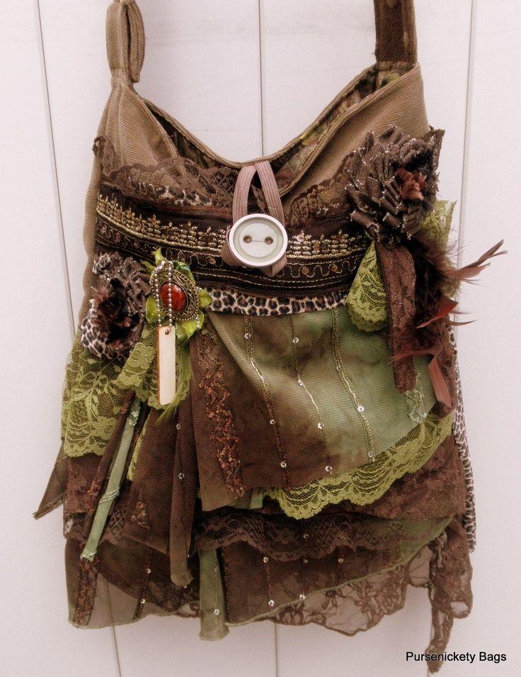 Bohemian Craft Ideas | Gypsy Bag large bohemian bag soft thick earthy by…