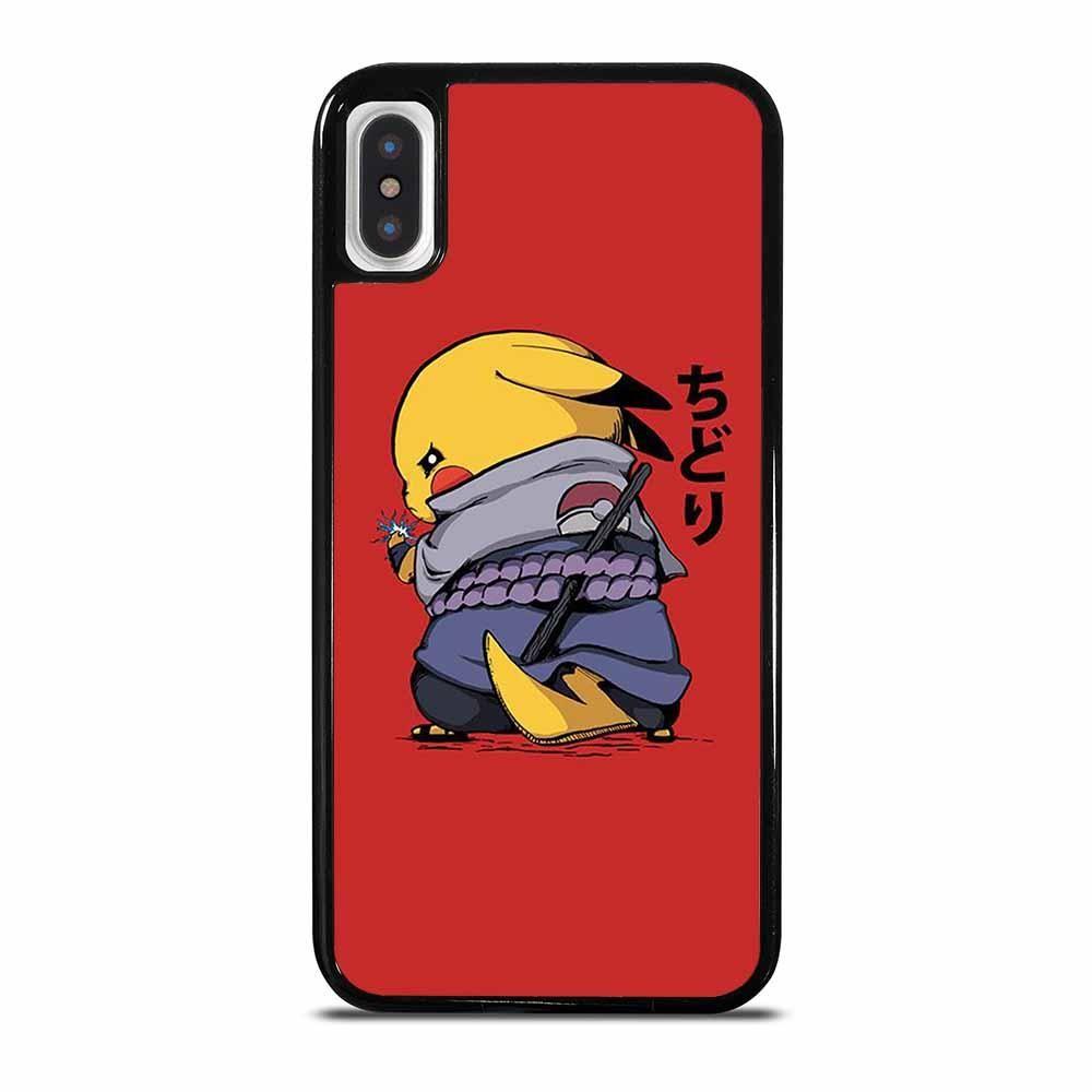 Naruto pikachu sasuke iphone x xs case iphone iphone