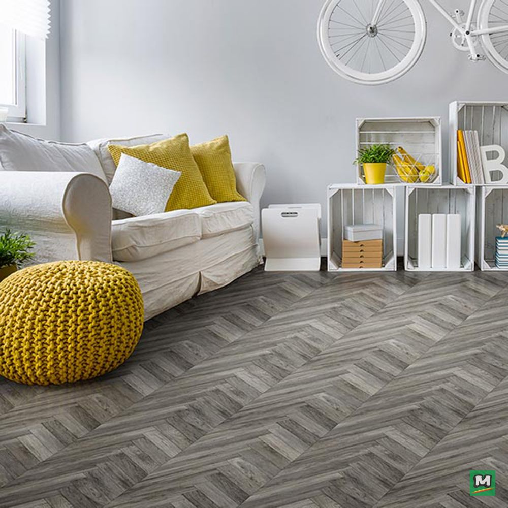 Life is messy, but AirStep® by Congoleum® is easy to