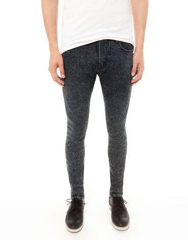 70b06042 Bershka - Super Skinny Stonewashed Jeans | Men's Fashion
