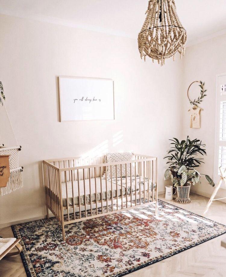 Fabulous Unisex Nursery Decorating Ideas: Boho And Sweet Baby Girl Nursery Ideas In 2019
