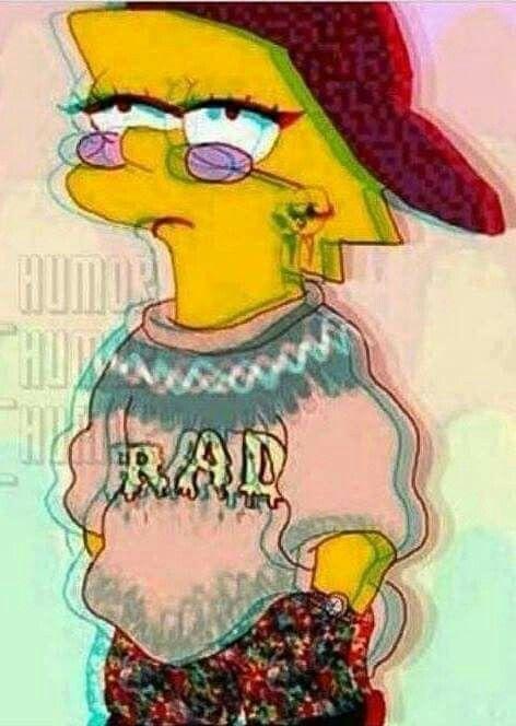 Papéis De Parede Desenho Dos Simpsons Lisa Simpsons E