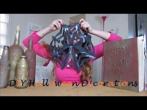 DIY Halloween Decorations Craft decorations and Craft - how to make halloween decorations youtube
