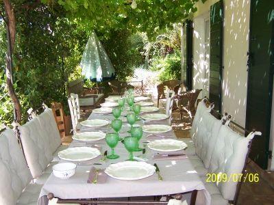 Terrasse de Provence à Toulon -  - Montrez-nous votre salon de jardin