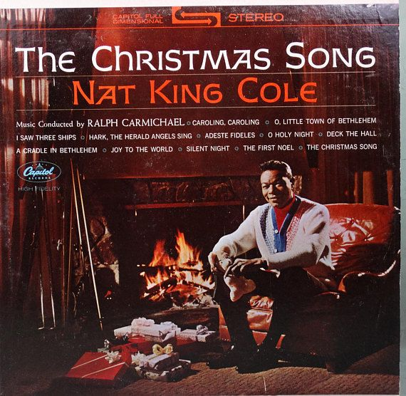 Nat King Cole Christmas.Nat King Cole The Christmas Song 1968 Lp Album Vinyl