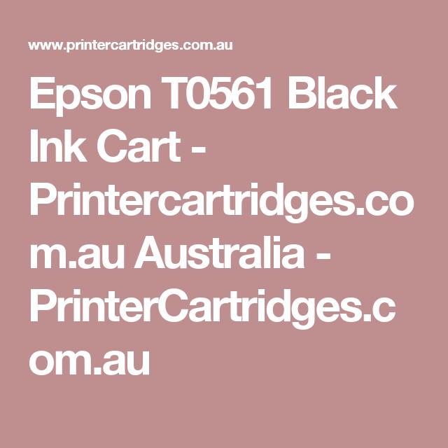 Epson T0561 Black Ink Cart - Printercartridges.com.au Australia - PrinterCartridges.com.au