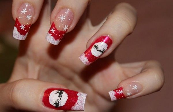 Christmas Nail Designs Tumblr Christmas Nail Art Tutorial Best