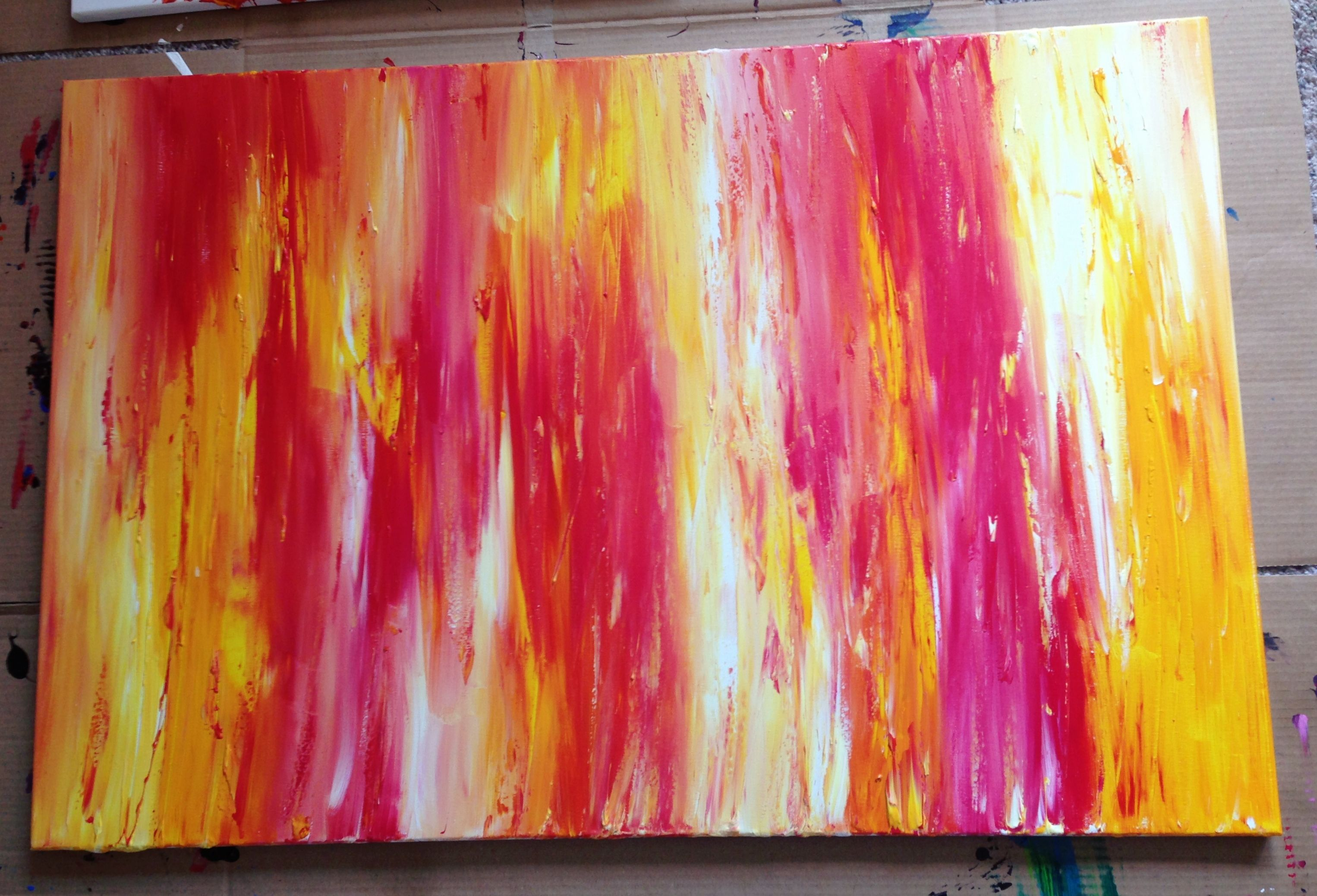 #abstract #painting #colorful #red #yellow #white http://www.facebook.com/pages/Sampschann-Original-Abstract-Paintings/183119168429871