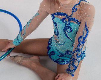 Belle concepteur gymnastique rythmique par artmaisternia sur Etsy