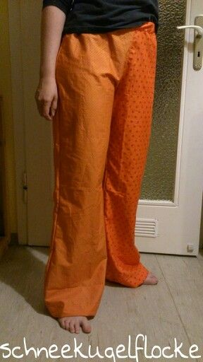 Because of Pinterest ... I've sewn lovely pajama pants that fit my bum and are long enough for my legs.