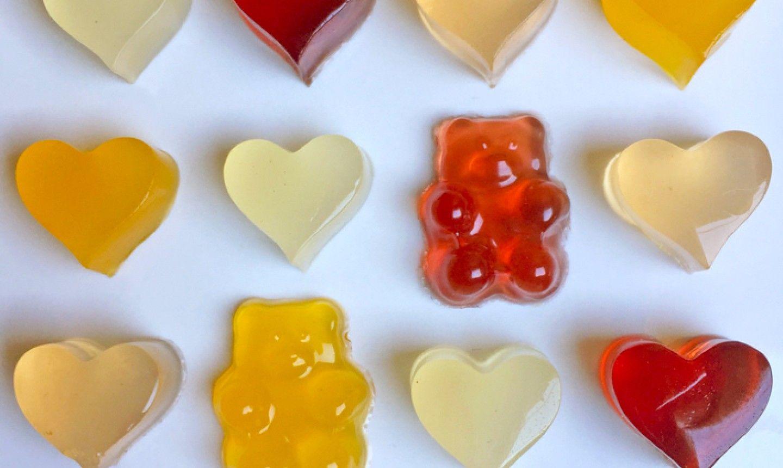 How To Make Natural Gummy Bears Gummy Bear Recipe With Jello Gummy Bears Vegan Gummy Bears