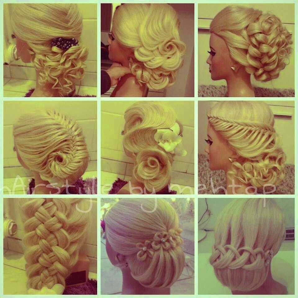 Different hairstyles braids pinterest