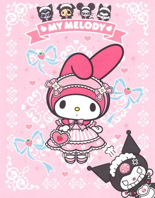 My Melody And Kuromi Wallpaper