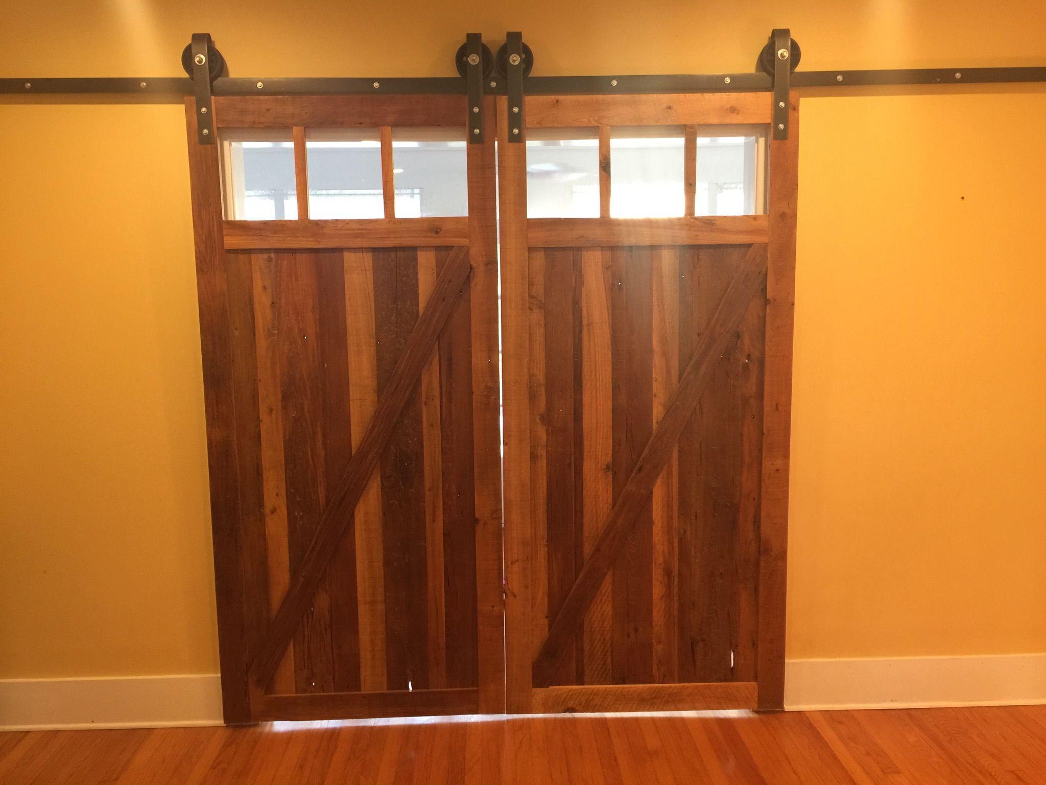 Reclaimed Cypress Barn Doors Lafayette Louisiana Cajun