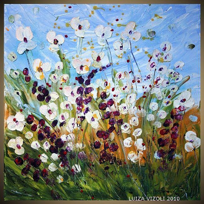 Wildflowers Meadow  by   LUIZA VIZOLI