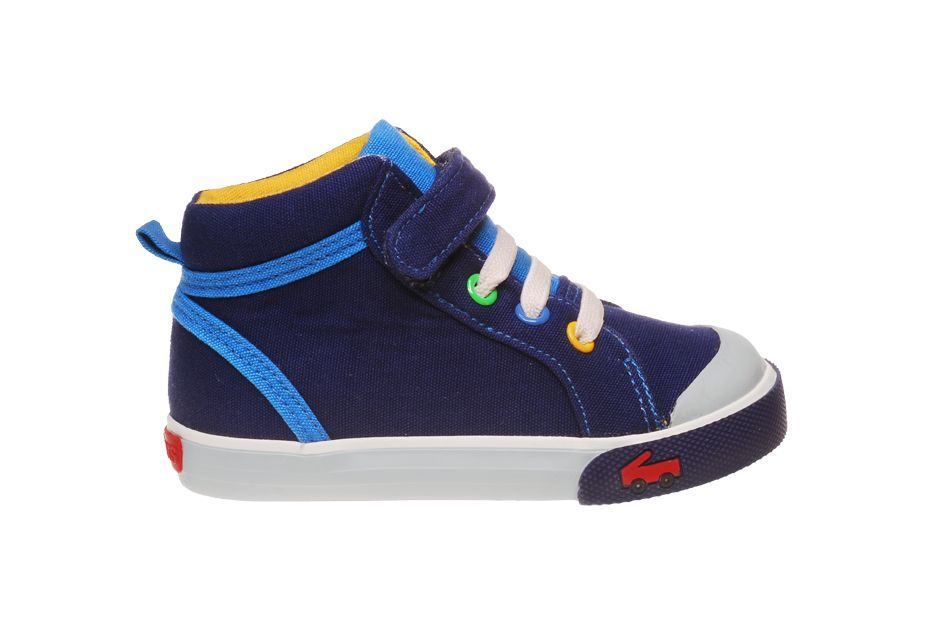 See Kai Run Sneakers Peyton - Navy $39.50 http://www.meandmyfeet.com/See-Kai-Run-Peyton-Navy #Sneakers #Shoes #Navy #Blue #Toddler #Kids